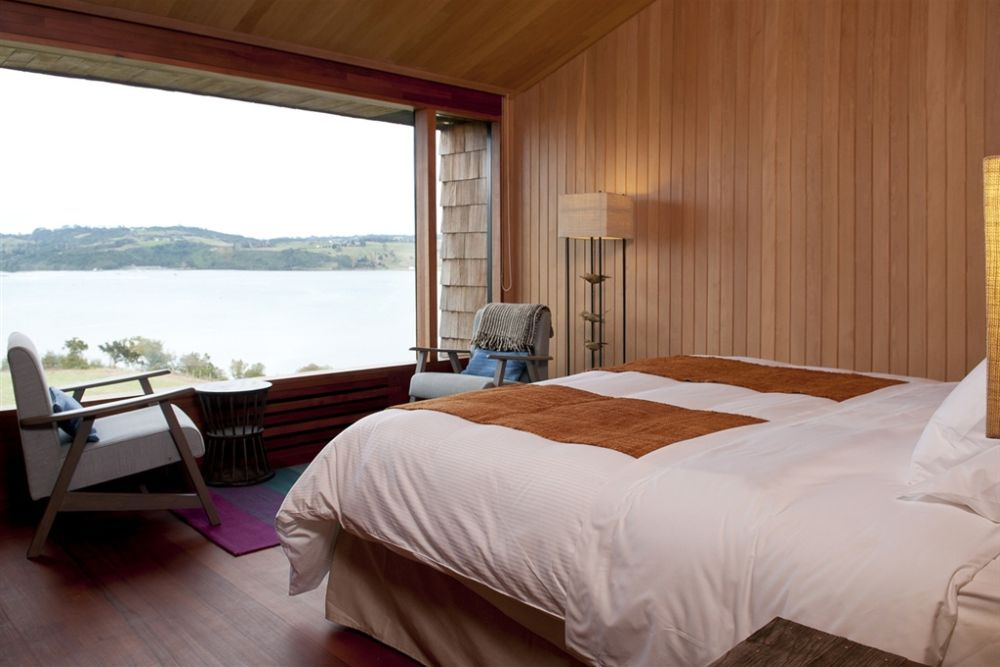 Privatrundreise Chile, Schlafzimmer, Hotel Tierra Chiloe, San Jose, Chile Individualreise
