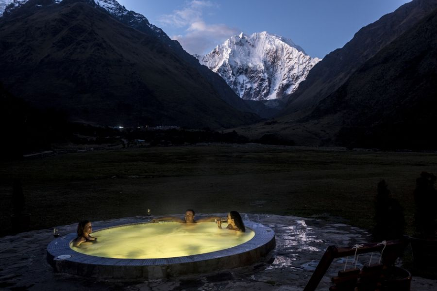 Luxusreise Peru, Rundreise Peru, Whirlpool, Mountain Lodges of Peru