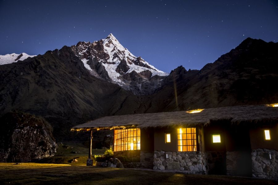 Privatrundreise Peru, Individualrundreise, Außenansicht, Lodges, Bergpanorama, Mountain Lodges of Peru