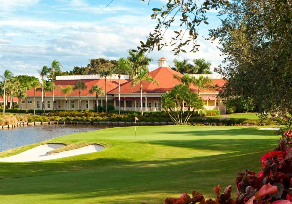 Golf Clubhouse, LaPlaya Beach & Golf Resort, Naples, Florida, USA Reisen