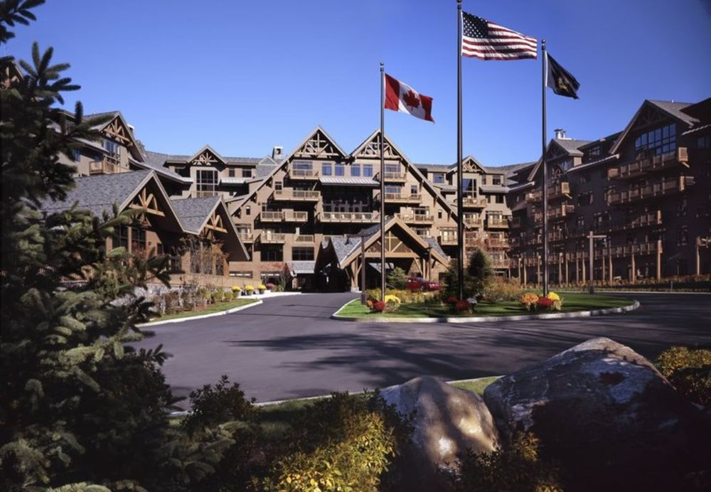 Aussenansicht, The Lodge at Spruce Peak, Stowe, USA Rundreisen