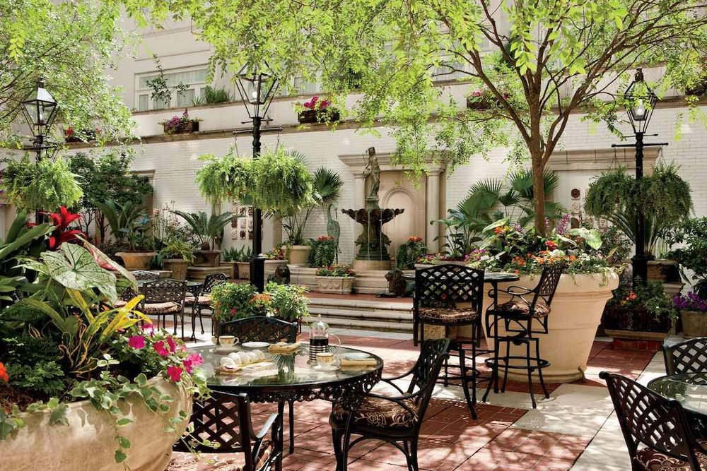 Terrasse, Ritz Carlton, New Orleans, Louisiana, USA Süden