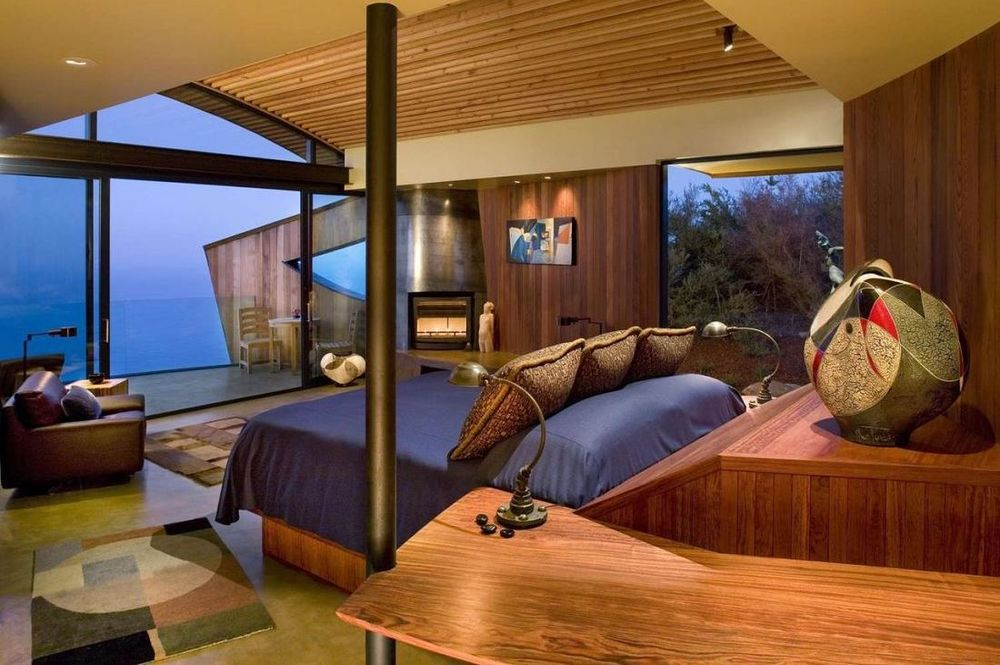 Doppelzimmer, Post Ranch Inn, Hotel Big Sur, USA Rundreise