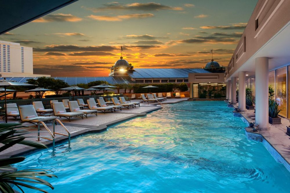 Rooftop Pool, Windsor Court Hotel, New Orleans, Louisiana, USA Rundreise
