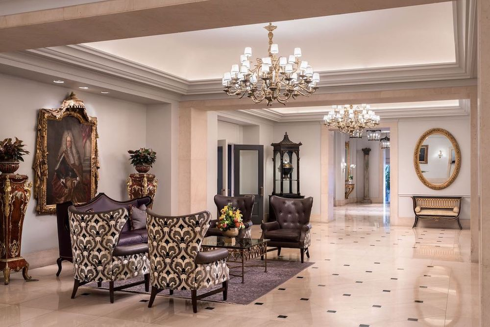 Lobby, Ritz Carlton New Orleans, Louisiana