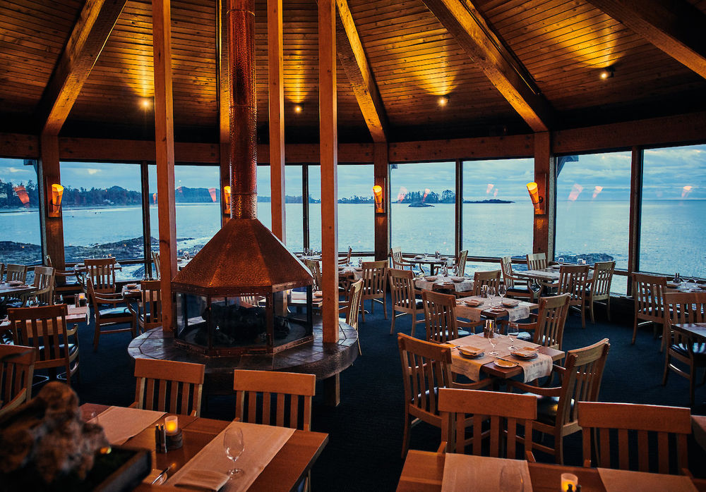 Restaurant, Wickaninnish Inn, Tofino, Kanada Rundreise