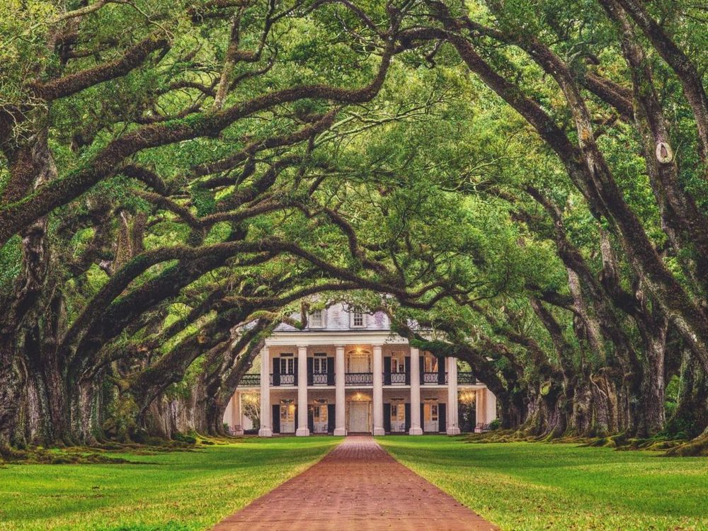 Oak Alley Plantation, Lousiana, USA Südstaatenreise