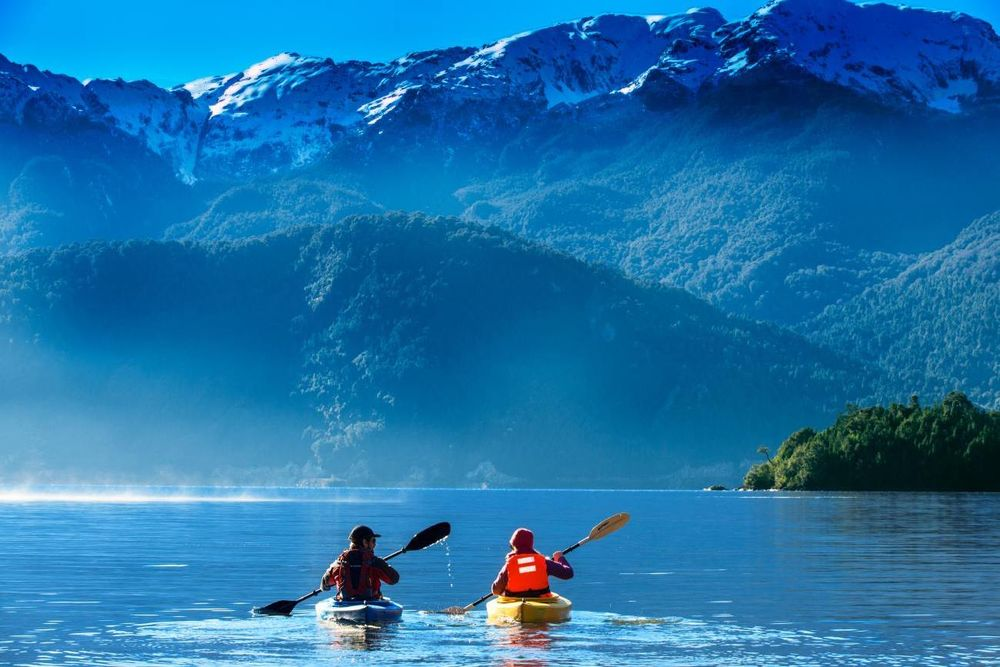 Kayaking, Puyuhuapi Lodge & Spa, Aysen, Chile Rundreise