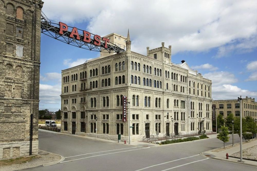 Aussenansicht, The Brewhouse Inn & Suites, Milwaukee, USA Rundreise