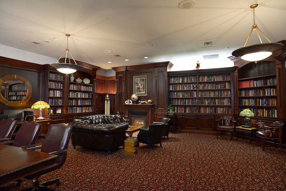 Bibliothek, Queens Landing, Hotel, Niagara-on-the-lake, Kanada Rundreise