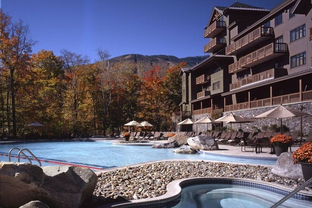 Pool, The Lodge at Spruce Peak, Stowe, USA Rundreisen