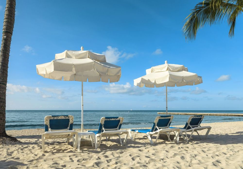 Strand, Southernmost Beach Resort, Key West, Florida, USA Reisen