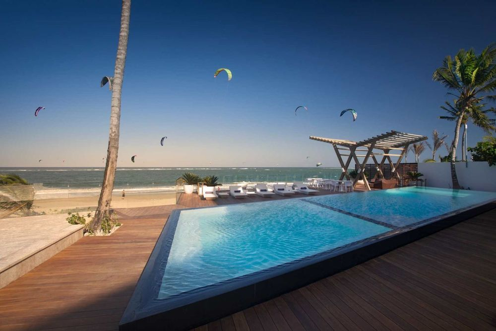Pool, Ultraviolet Residences, Cabarete, Dominikanische Republik Reise