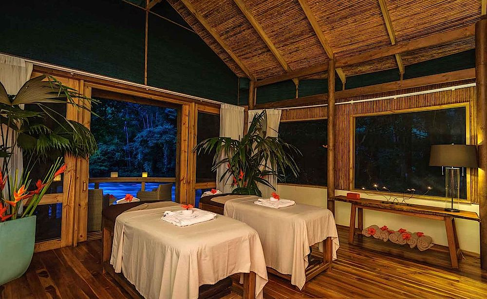 Individualrundreise Costa Rica, Pacuare Lodge, Spa, Wellness, Massage