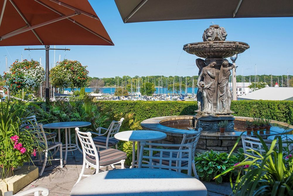 Veranda, Queens Landing, Hotel, Niagara-on-the-lake, Kanada Rundreise