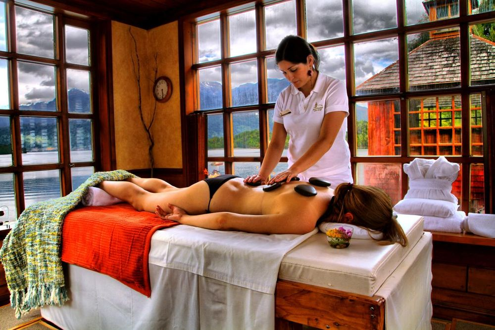 Spa, Puyuhuapi Lodge & Spa, Aysen, Chile Rundreise