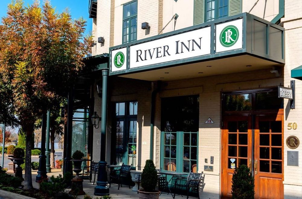 Eingang, The River Inn of Harbor Town, Memphis, Tennessee, USA Rundreise