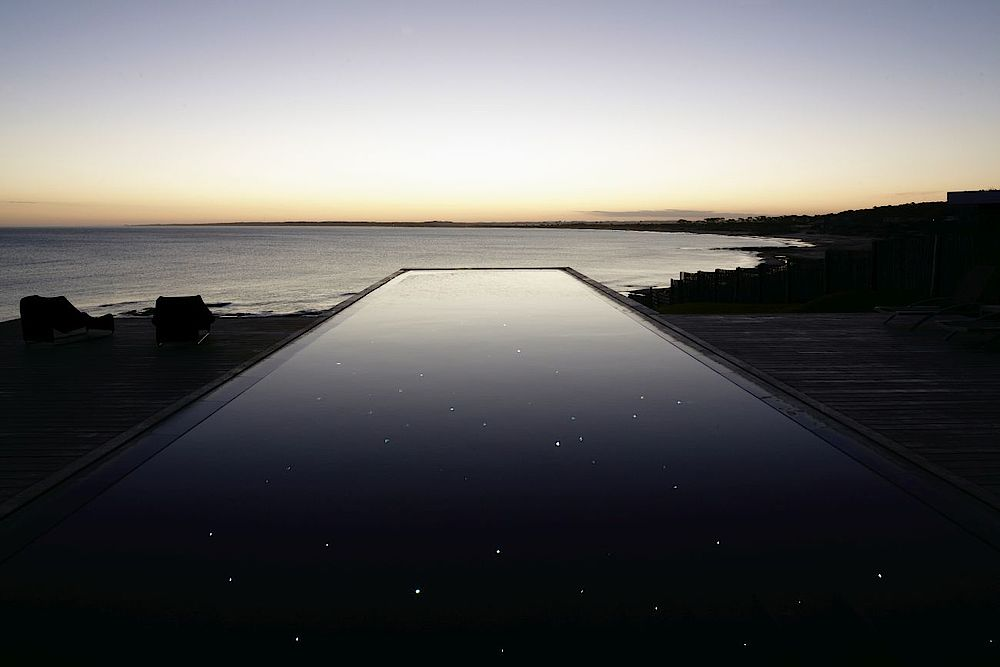 Luxusreise Uruguay, Pool mit Meerblick, Playa Vik Resort, Jose Ignacio