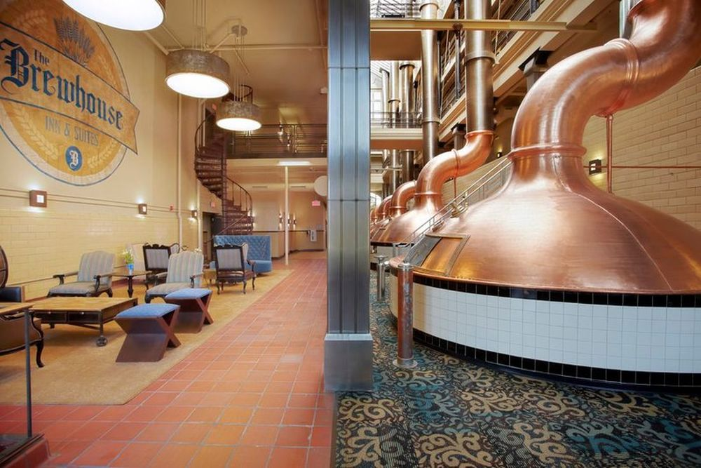 Braukessel, The Brewhouse Inn & Suites, Milwaukee, USA Rundreise