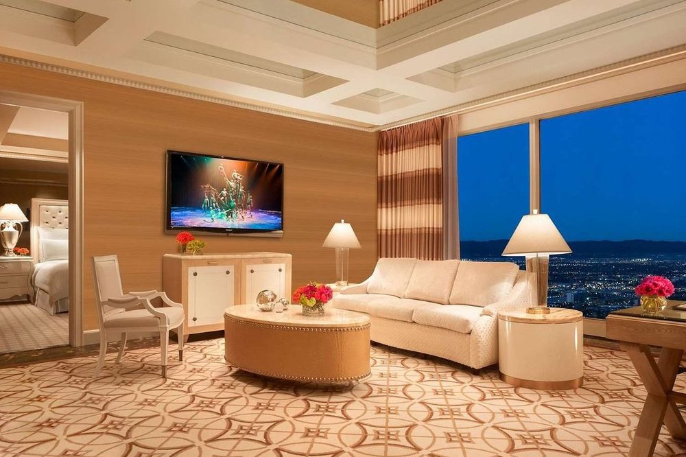 Suite im Wynn Resort, Las Vegas, USA Reise