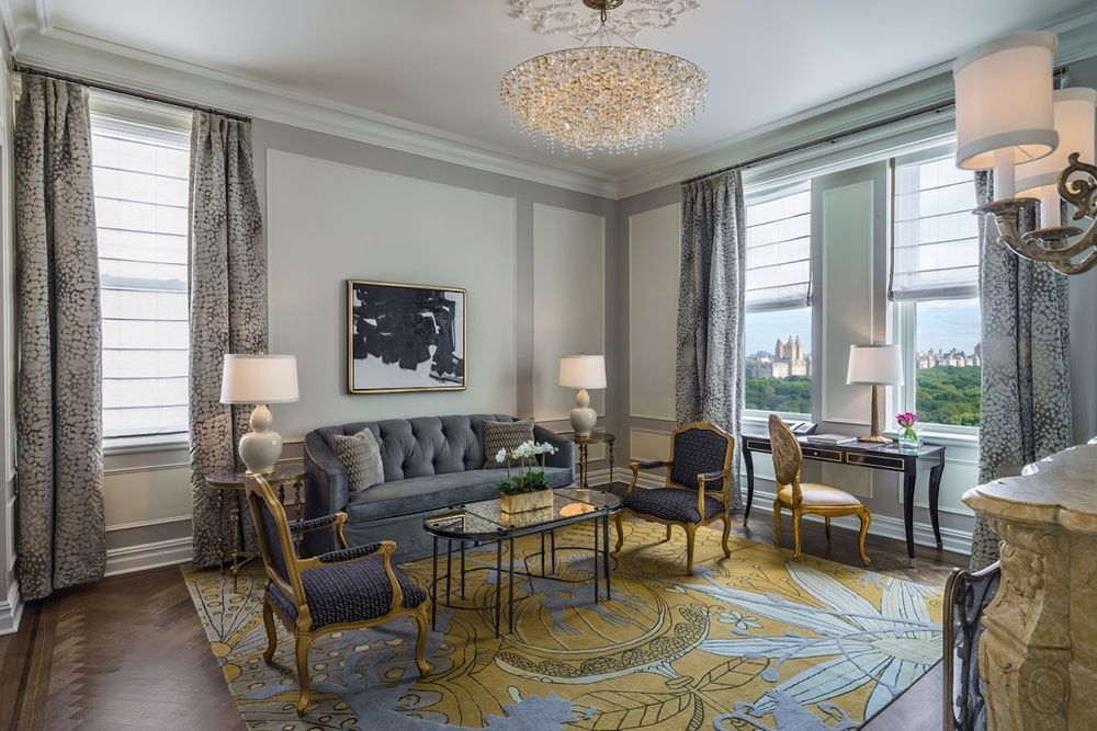 Carnegie Suite, Plaza Hotel, New York, USA Reise