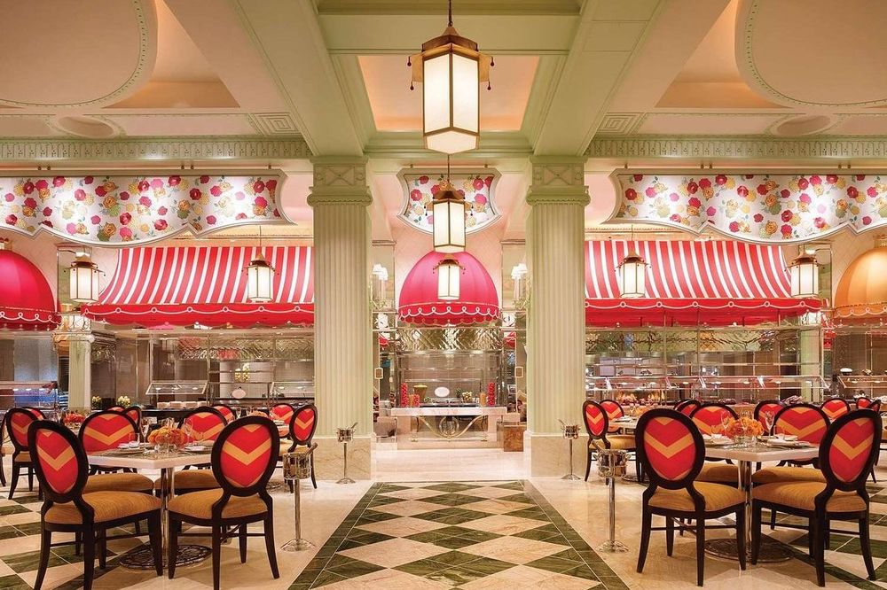 Restaurant, Wynn Resort, Las Vegas, USA Reise