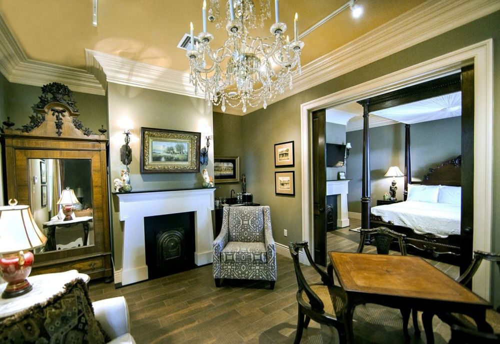 Grand Suite, The Inn at Houmas House, Baton Rogue, Louisiana, USA Rundreise