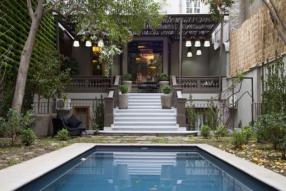 Pool, Lastarria Boutique Hotel, Santiago de Chile, Luxusreise chile