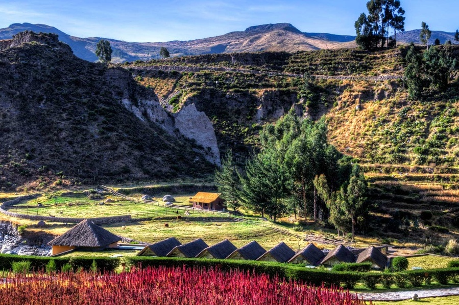 Colca Lodge Spa and Hot Springs, Peru, Luxureise