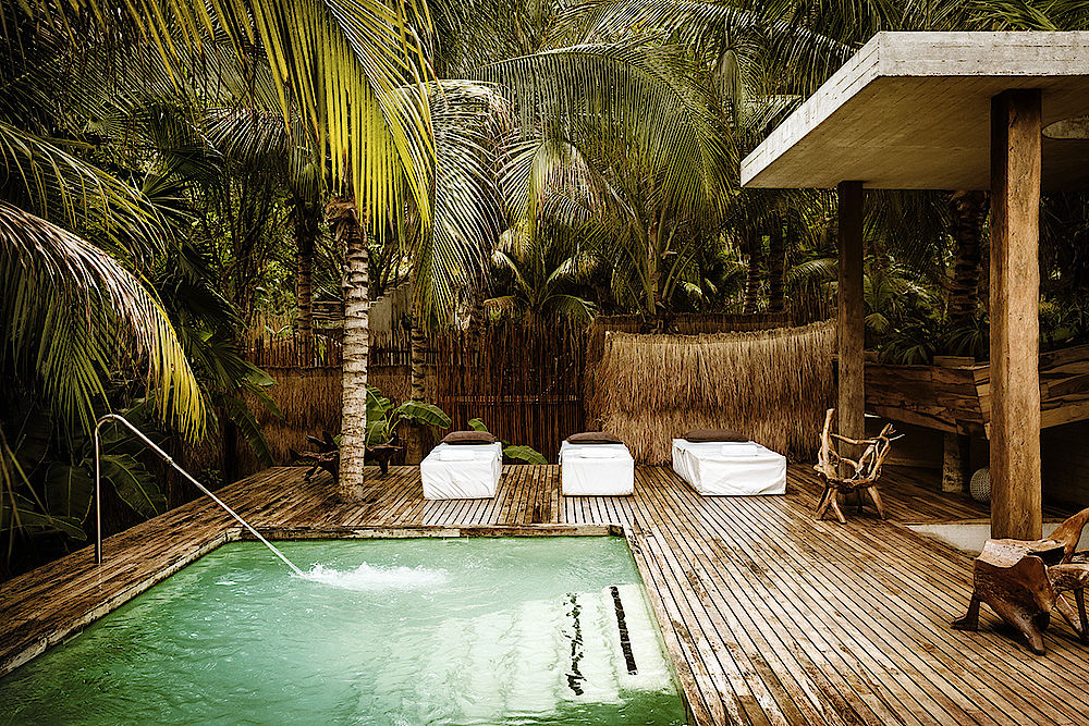 Mexiko Reisen, Luxus, Traum, privater Pool, Entspannung, Lodge, Hotel Be Tulum